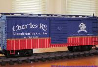 USA Trains 1. Jubiläums-Wagen (Anniversary car) - Charles Ro Boxcar