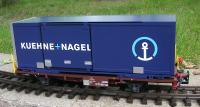 ÖBB Speditions Containerwagen (Forwarding Container Car) Kühne & Nagel