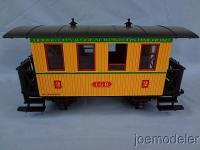 Dodge City & Great Western Personenwagen, 2. Klasse (Passenger car, 2nd class)
