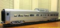 California Zephyr - Vista Dome - Silver Pony
