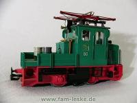 Rottenlok mit Blinklicht (Service locomotive with flashing light)