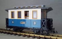 LGB Personenwagen 3. Klasse (Passenger car 3rd class) Version 3