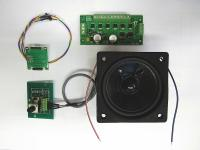Motor-Sound Decoder Kit (Amerikanisches Dampflok Geräusch; American Steam Sound) DC / DCC