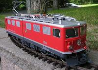 RhB Ellok (Electric locomotive) Ge 6/6 II 704 Davos
