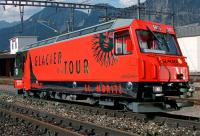 RhB Ellok (Electric locomotive) Ge 4/4 III 651 Fideris