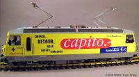 RhB Ellok (Electric locomotive) Ge 4/4 III 647 Capito