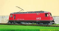 RhB Ellok (Electric locomotive) Ge 4/4 III 643 Vals