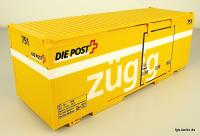 Swiss Post Container 751