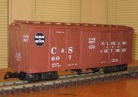 C&S Güterwagen (Box car) 607