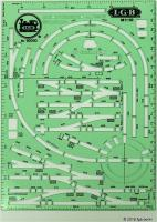 Gleisschablone (Layout Stencil) - 1993