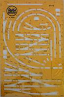 Gleisschablone (Layout Stencil) - 2003