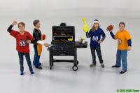 Grillparty - Figuren-Set von American Diorama