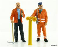 Gleisbauarbeiter (Track workers)
