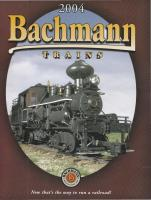 Bachmann Trains Katalog (Catalogue) 2004