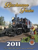 Bachmann Trains Katalog (Catalogue) 2011