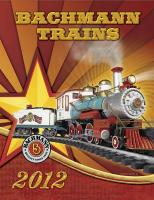 Bachmann Trains Katalog (Catalogue) 2012