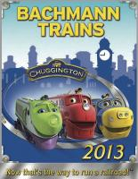 Bachmann Trains Katalog (Catalogue) 2013