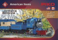 Piko Katalog (Catalogue) 2014 American Items