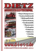 Dietz Katalog (Catalogue) 2013