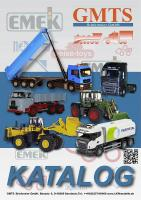 EMEK Katalog (Catalogue) 2013
