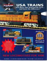 USA Trains Neuheiten (New Items) 1998