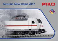 Piko Neuheiten (New Items) 2017 Herbst/Autumn - English