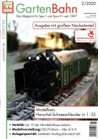 GartenBahn Magazin Messeinformation (Nürnberg Fair information) 2020