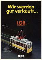 LGB Neuheiten (New Items) 1976 - Deutsch/German