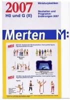 Merten Miniaturplastiken Neuheiten (New Items) 2007