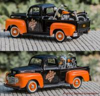1948 Ford F-1 Pickup und 1958 FLH DUO GLIDE