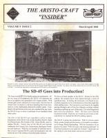 Aristocraft Insider - 2001, Iss. 2 (March/April)