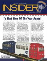 Aristocraft Insider - 2012, Iss. 2 (Mar/April)