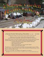 Garden Railroading Newsletter - Issue 1 (Sept. 2020)
