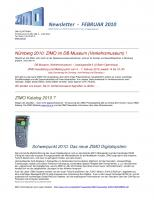 Zimo Newsletter - 2010-02 Februar (Deutsch)