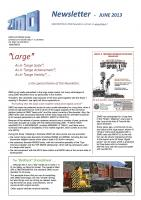 Zimo Newsletter - 2013-06 June (English)