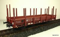 "DR Rungenwagen (Flat car with stanchions) ""Stuttgart"" 61-24-17"