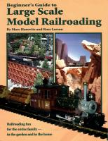 Gartenbahn (Large Scale) Handbook - 1998 Beginner's Guide to Large Scale Model Railroading