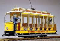 United Traction Co. Strassenbahn (Streetcar) 504