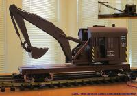 C&S Bagger Bahnwagen (Car with power shovel) 012