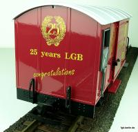 15. Jahrestag LGB MRRC G�terwagen Kopfende (15th Anniversary LGB MRRC box car end panel)