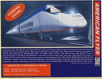 Amtrak Bullet Train set