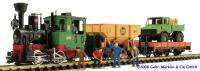 Güterzug Starter Set (Freight Train Start Set) 120 Volt US