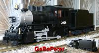 Amerikanische Schlepptenderlok (Steam locomotive) 0-6-0