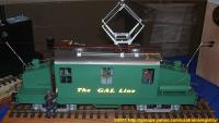 The GAL Line E-Lok (Electric locomotive)