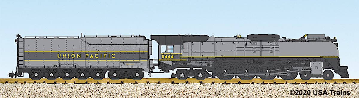 Union Pacific FEF-3 'Northern' Dampflok (Steam locomotive) 8444 - Grayhound