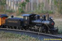 Union Pacific Dampflok (Steam locomotive) 17